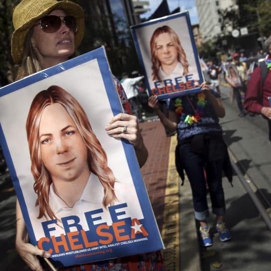 Chelsea Manning kommt frei.