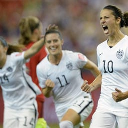 US-Fußballerin Carli Lloyd