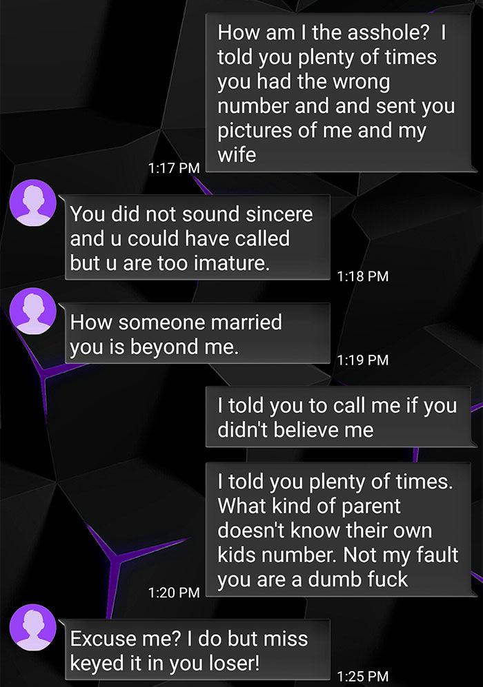guy troll wrong number text exchange velakskin 11