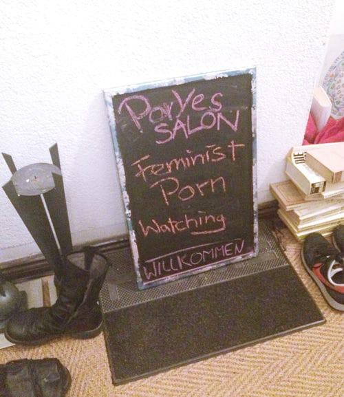 """Hier geht's lang zum """"Feminist Porn Watching"""""""