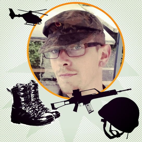 job kolumne soldat