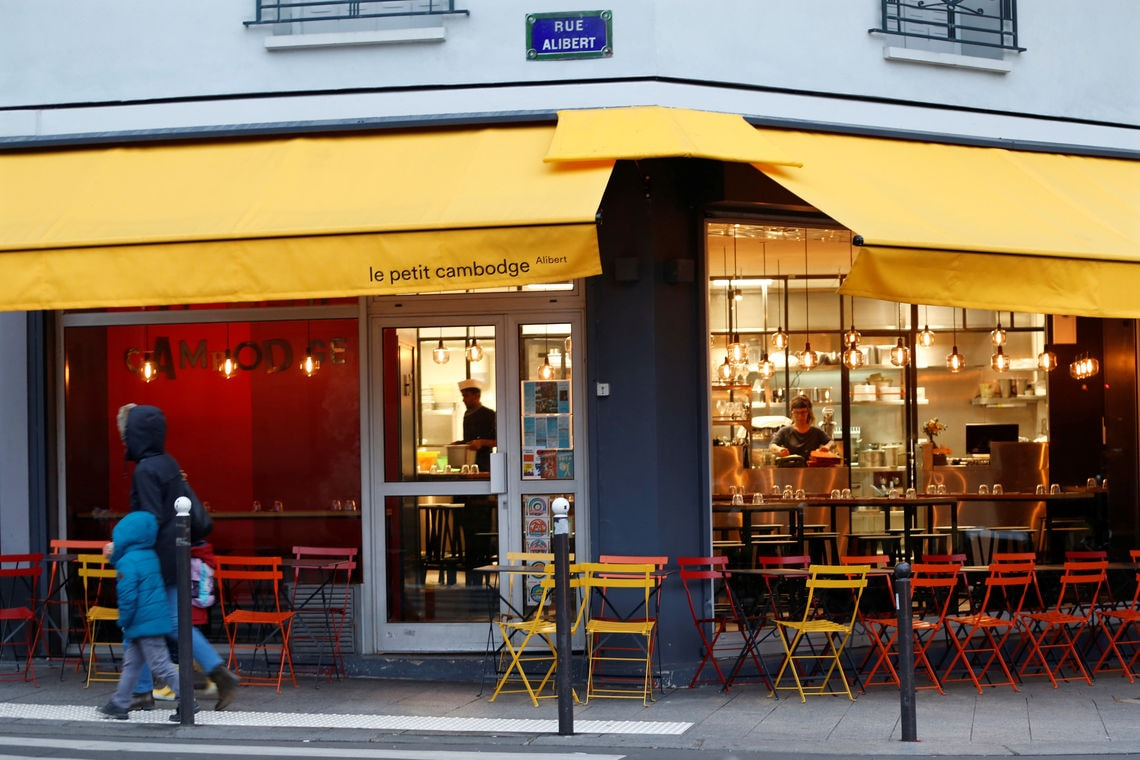 """Le Petit Cambodge"" in Paris"