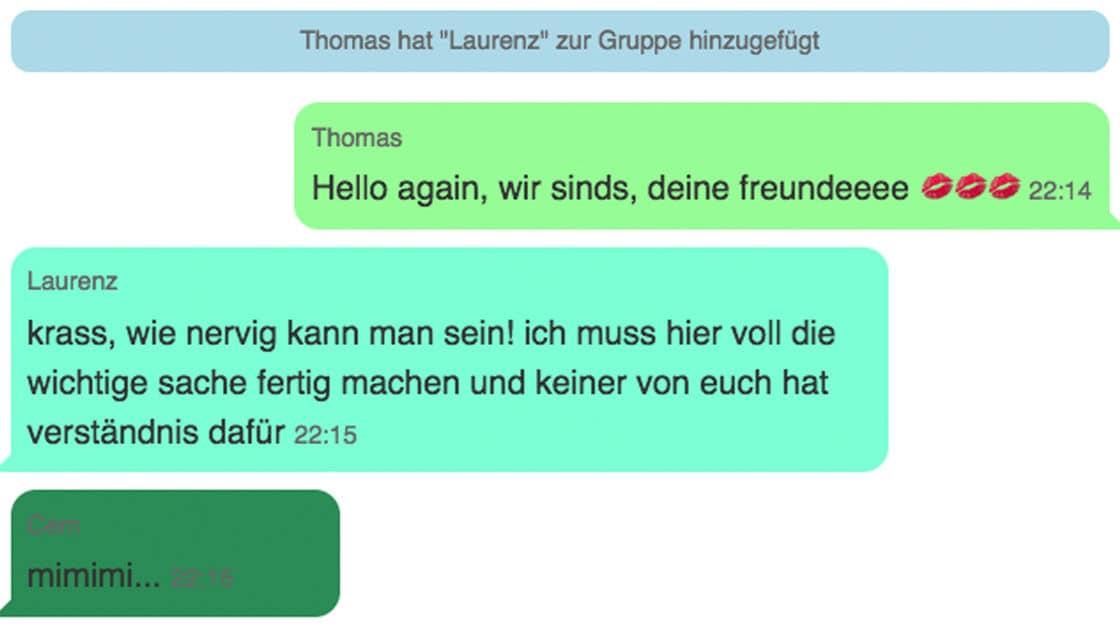 Sex gruppe whatsapp