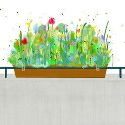 balkon bienen cover
