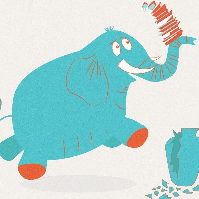 """Unsere Autorin liebt den """"Elefanten im Porzellanladen"""""""