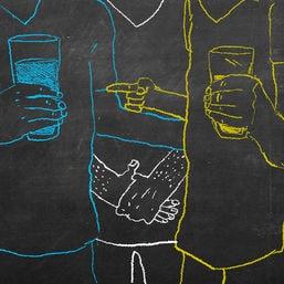 trink kolumne abstinenz