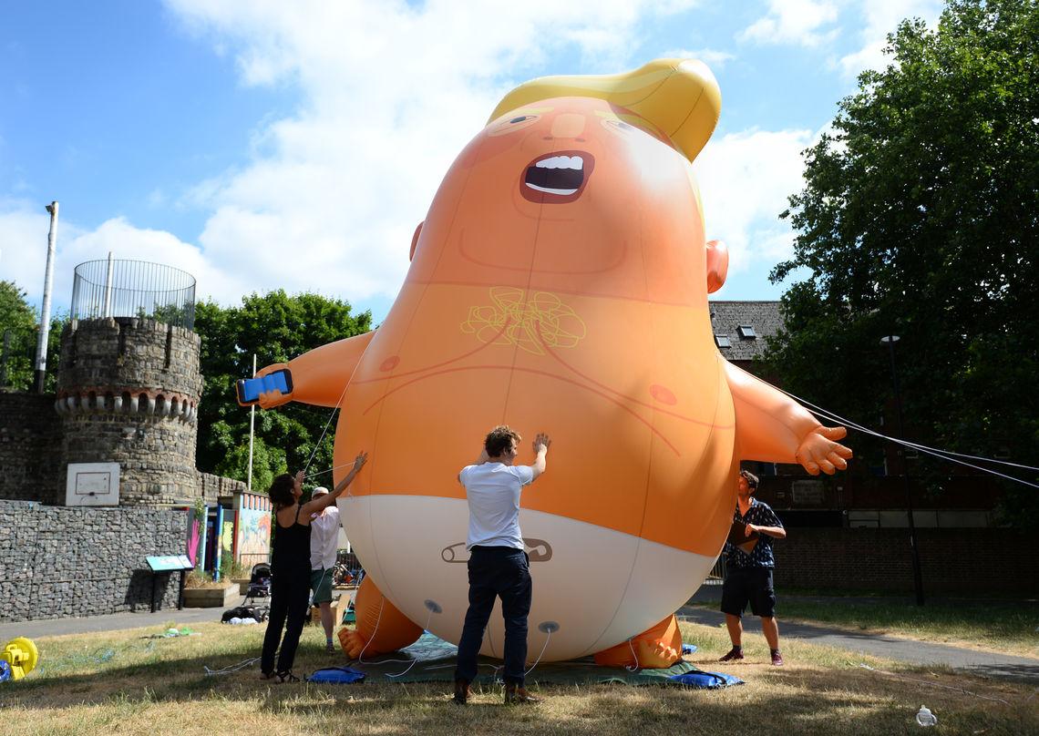 Trump Baby Protest