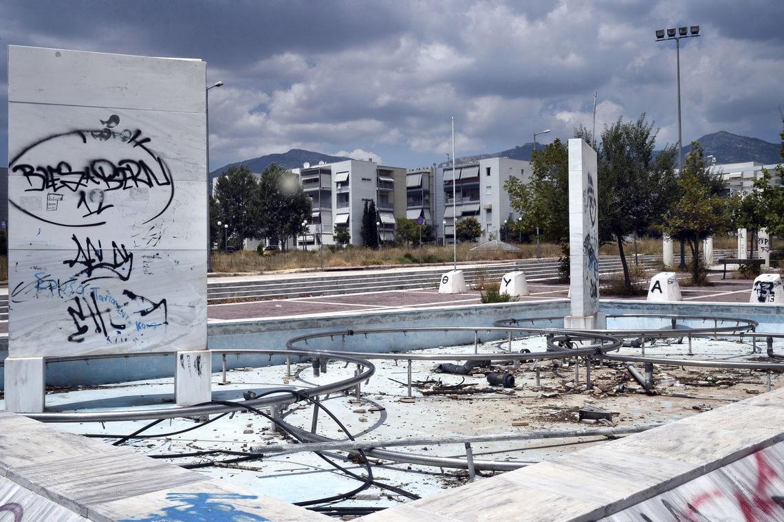 Wo vor 18 Jahren die Olympioniken wohnten, ist heute Brachland.