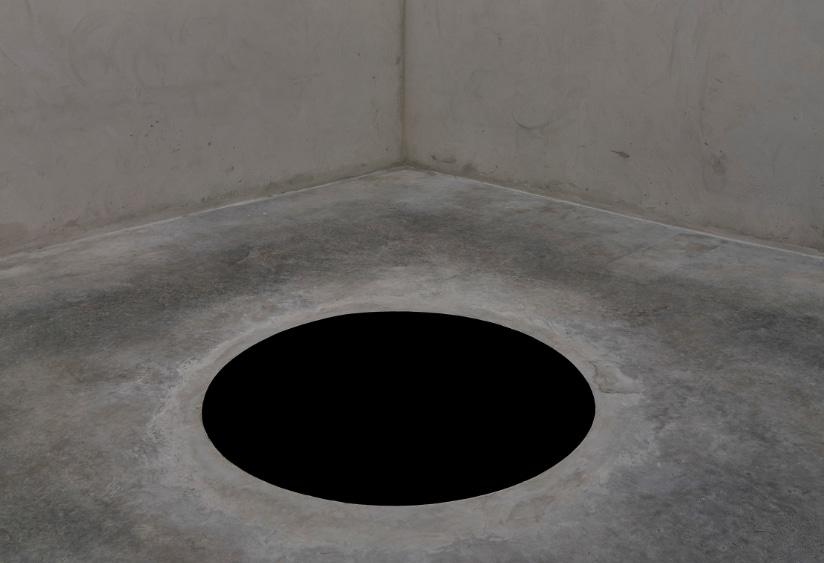 Ja, es ist wirklich ein Loch.
