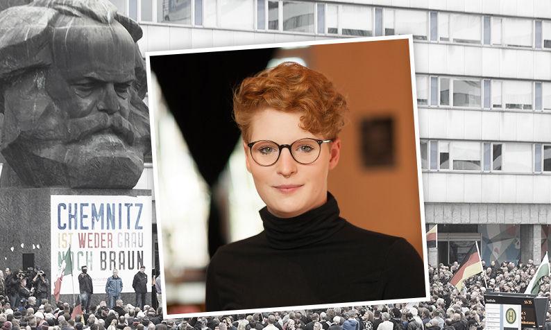 Judith Sophie Schilling findet den Hashtag #wirsindmehr irreführend.