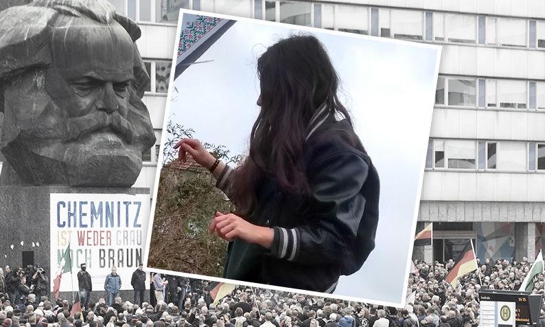 Laura Rieger findet: Die Demos und Konzerte in Chemnitz sind ein Anfang.