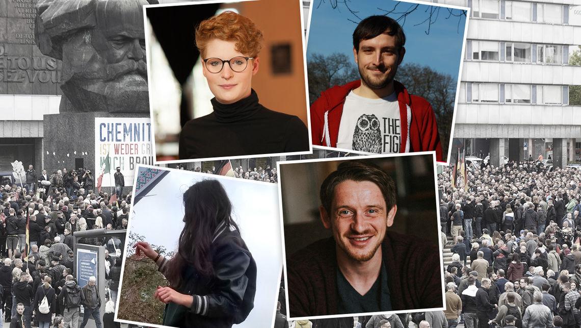 In Sachsen engagieren sich junge Menschen seit Jahren für eine offene Gesellschaft. Das ist nicht immer leicht.
