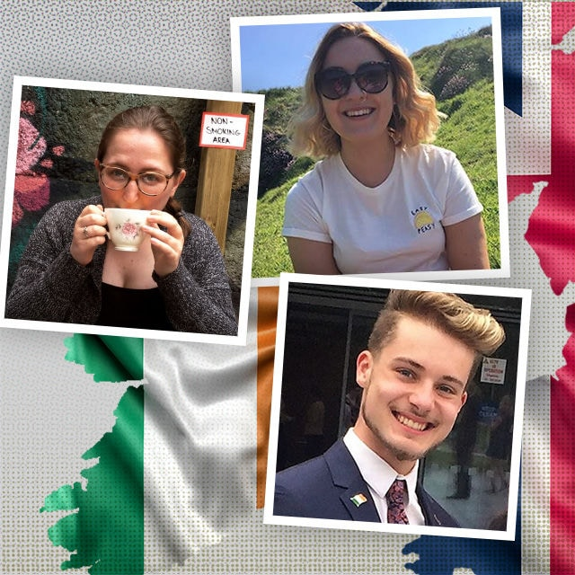 Grace, Jenna und Rhye leben auf der irischen Insel.