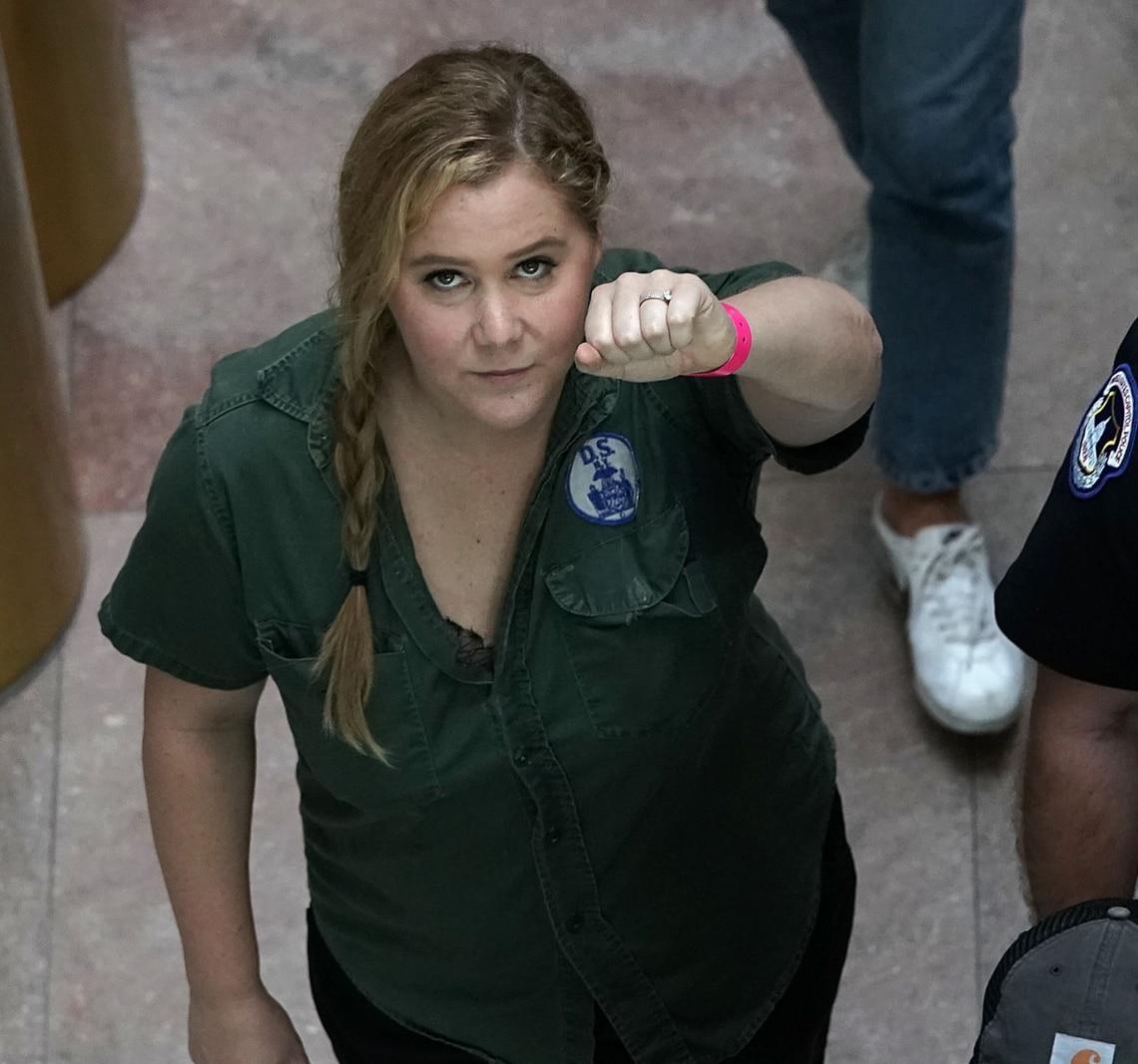 Amy Schumer wurde während der Proteste gegen Brett Kavanaugh festgenommen.