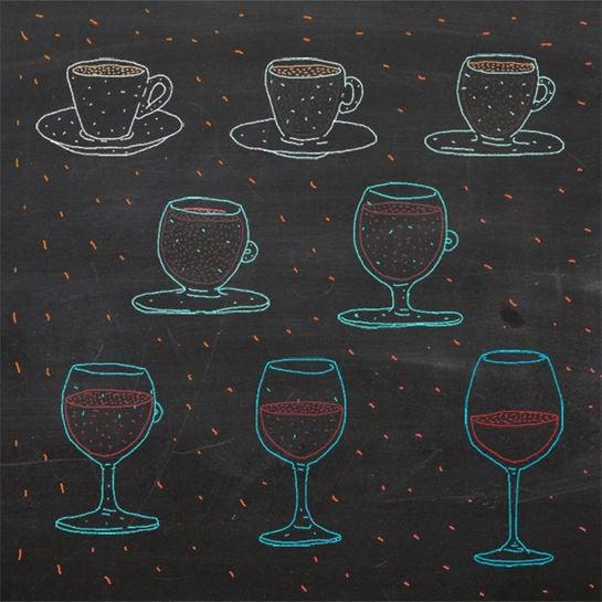 trinkolumne cafe to wine