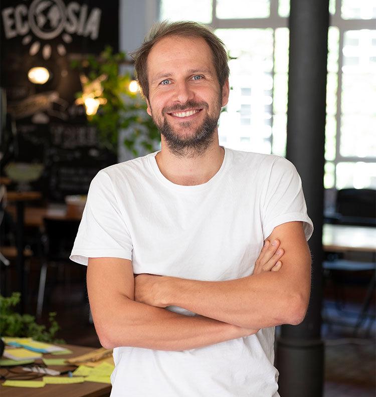 Christian Kroll hat Ecosia gegründet.