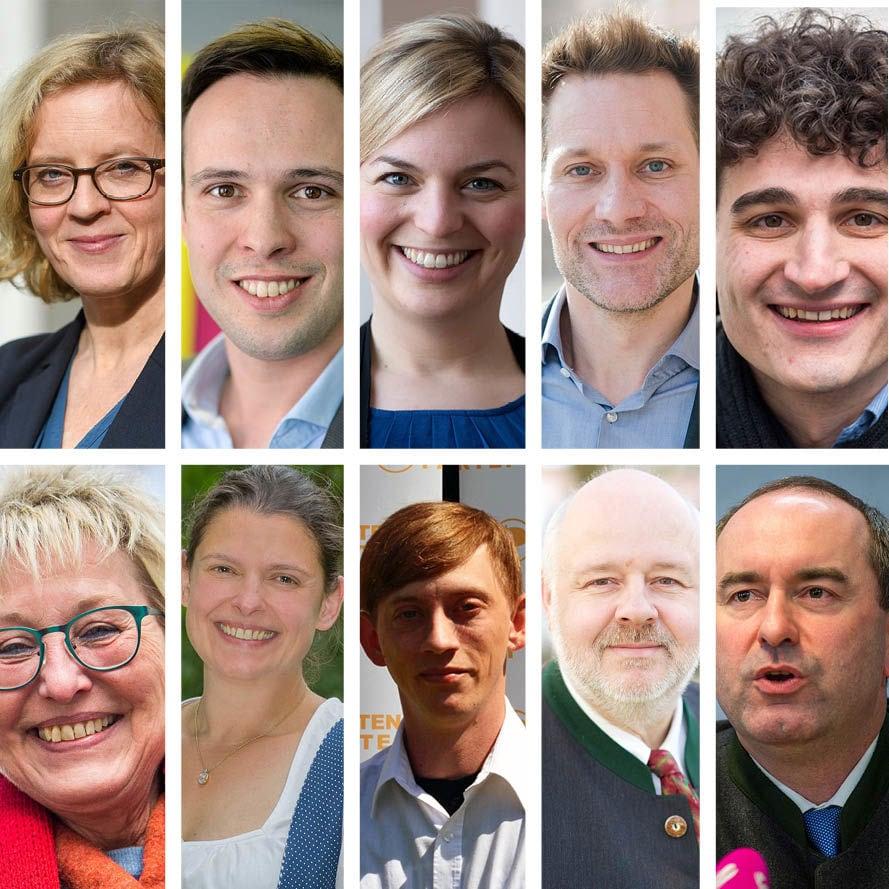 Zehn Kandidatinnen und Kandidaten haben 15 Sätze vervollständigt.