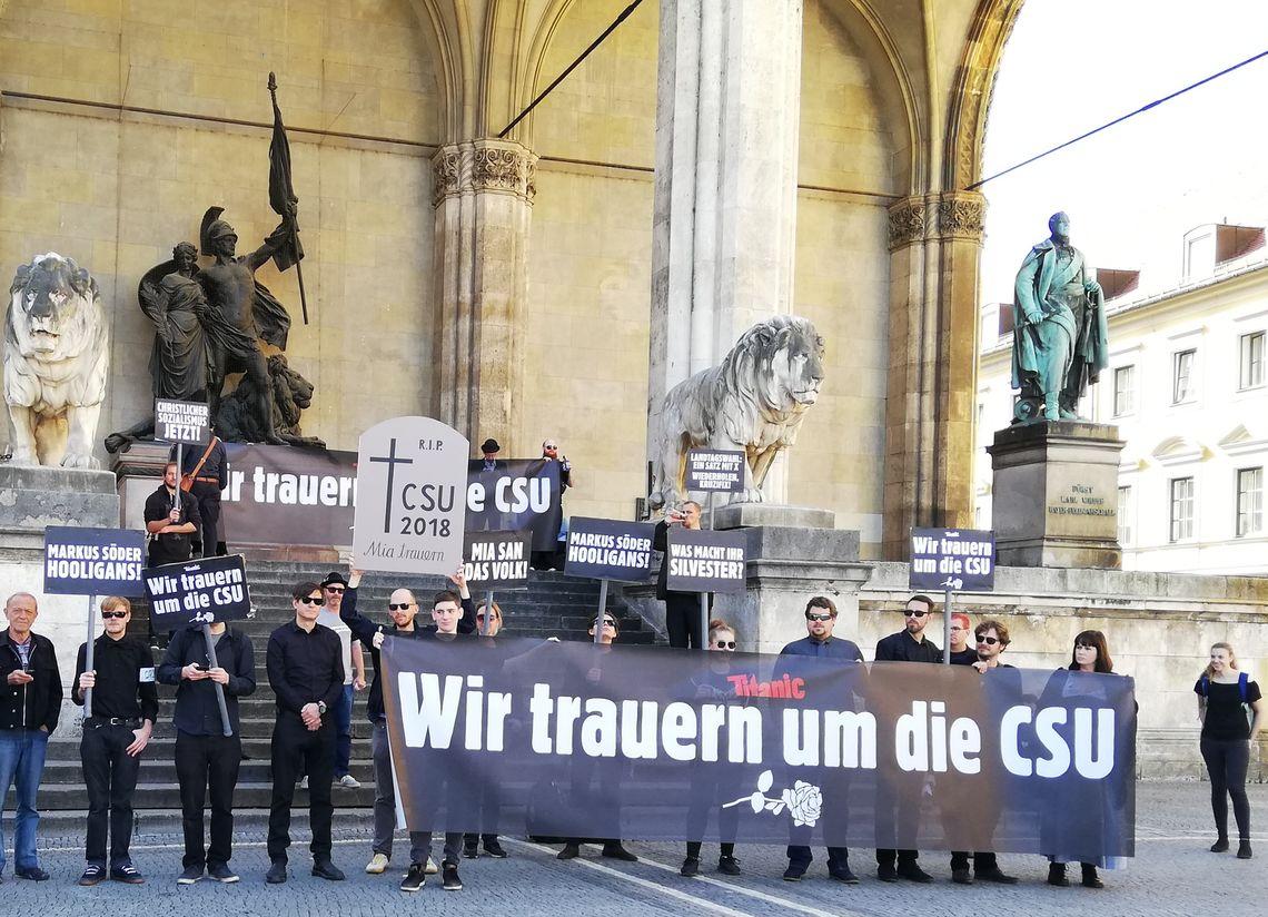 Trauermarsch CSU