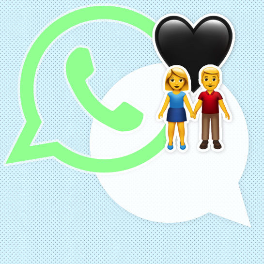 whats app cover offen