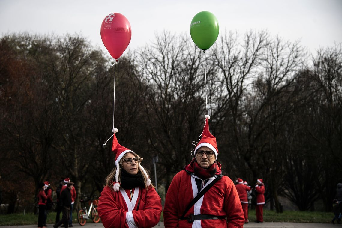 Luftballons Paar turin