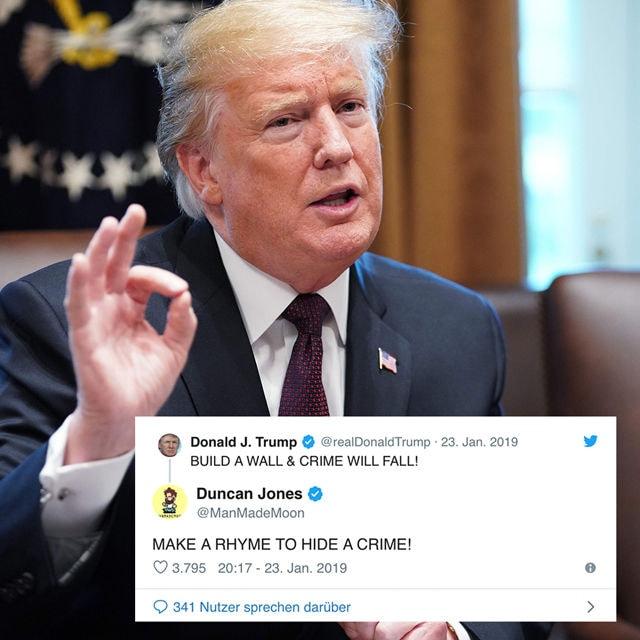 Trump Reime Cover