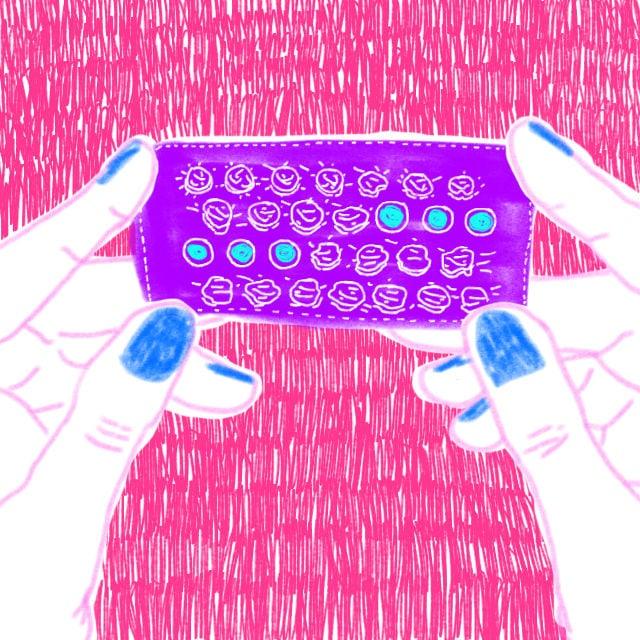 pille durchnehmen