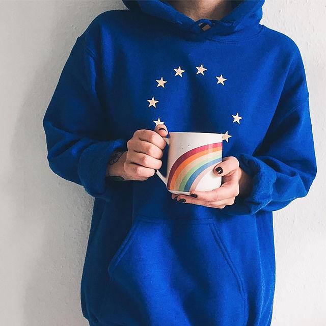 premium selection b7a04 6db29 Der EU-Pullover wird zum Trend - Mode - jetzt.de