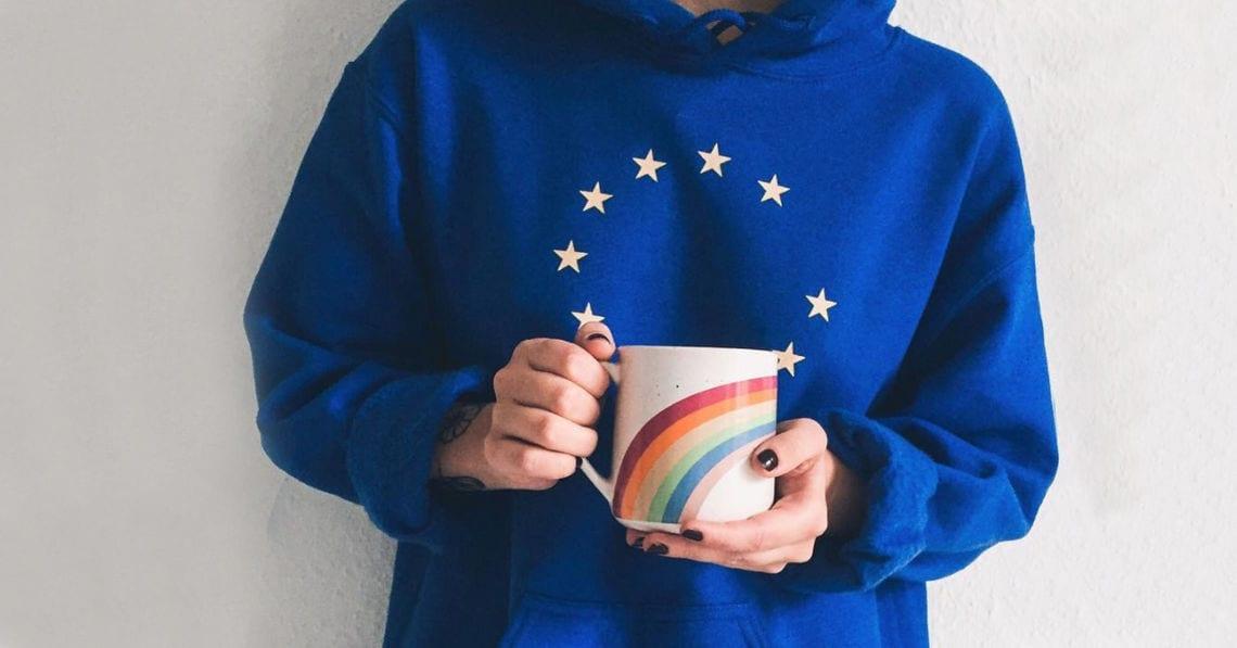 premium selection d41e2 7edf6 Der EU-Pullover wird zum Trend - Mode - jetzt.de