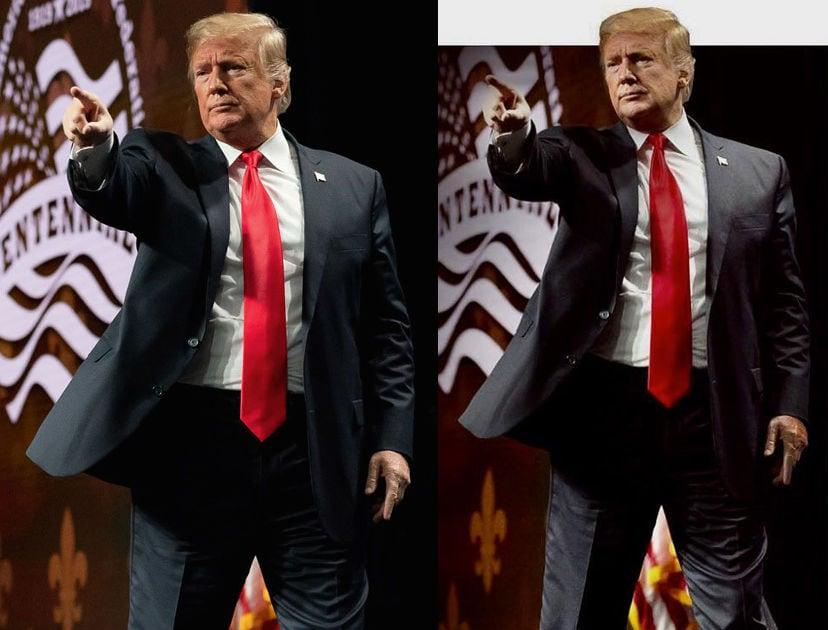 trump photoshop sz