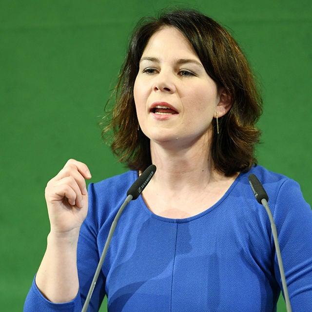 Annalena Baerbock über die Grünen und jungen Klima Protest