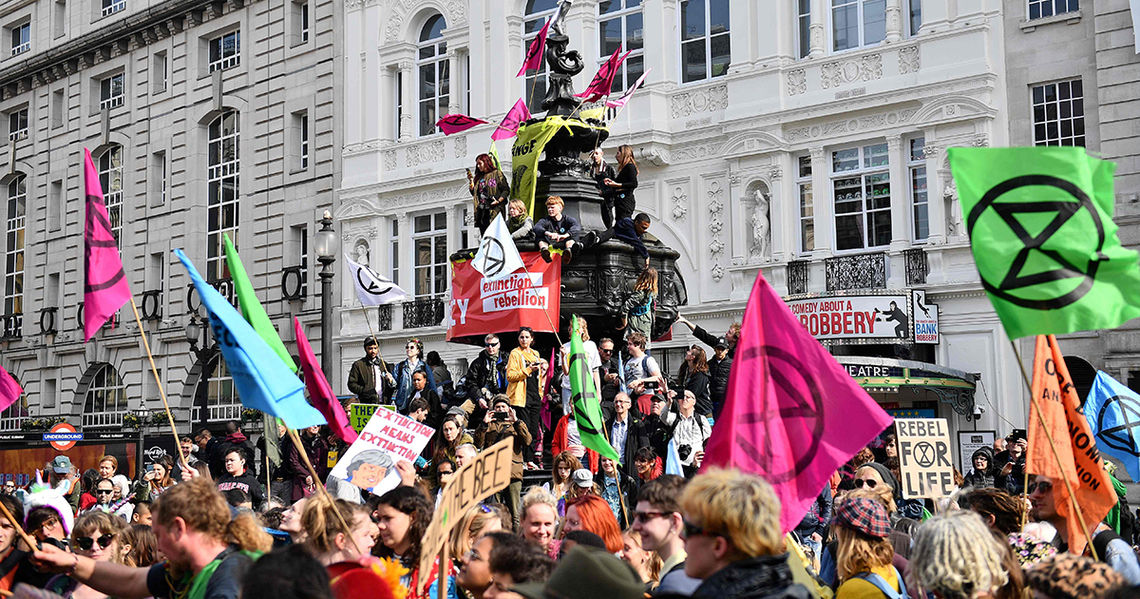 extinction rebellion london sz