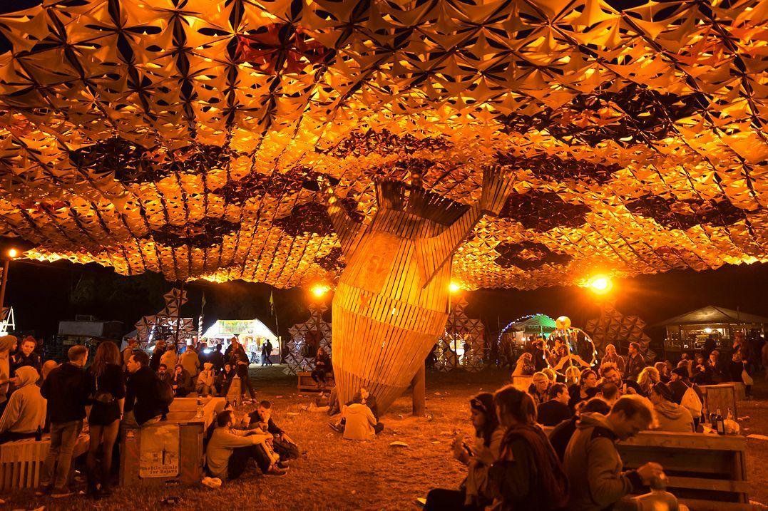 Fusion Festival Platz der Kosmonaten