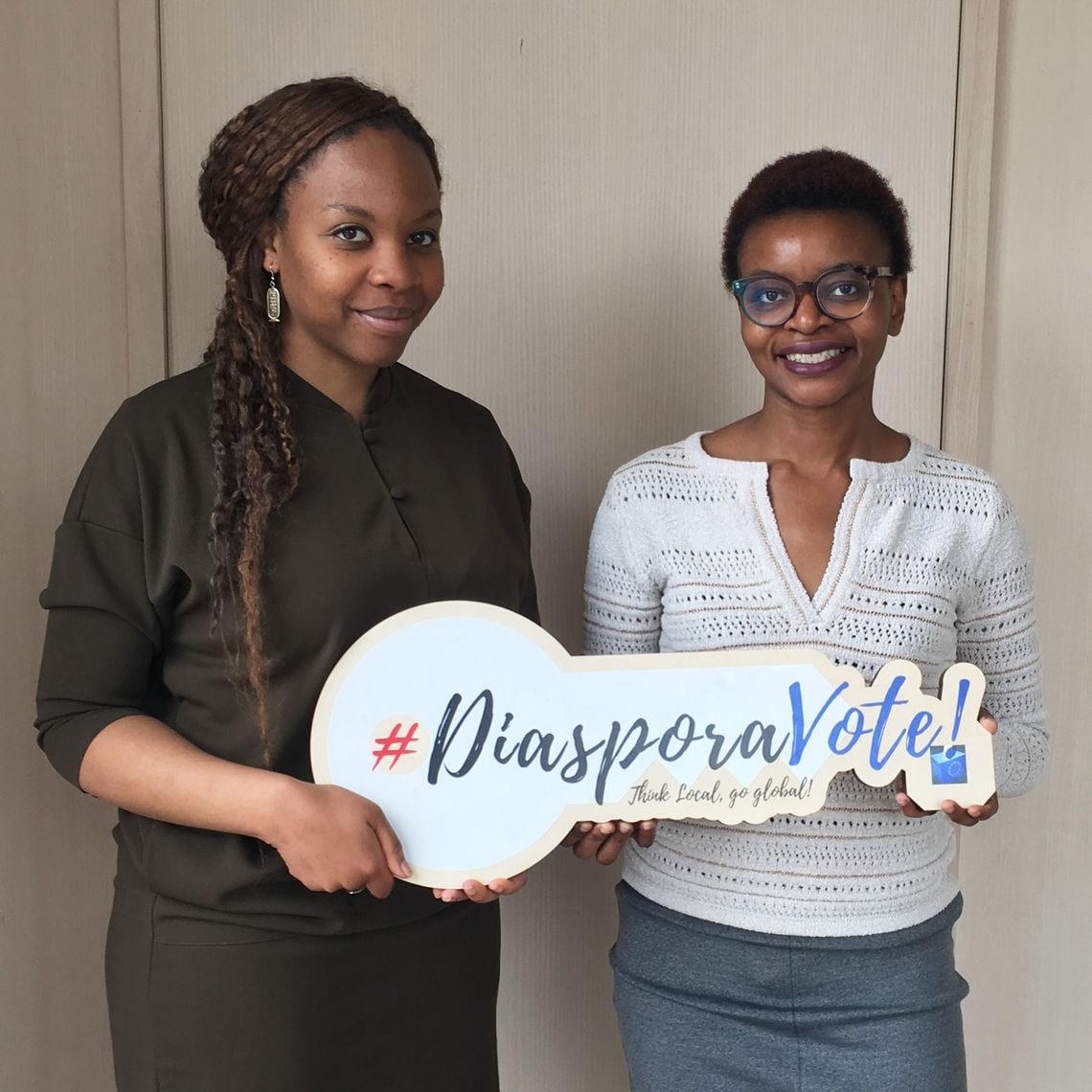 #diasporavote Cover