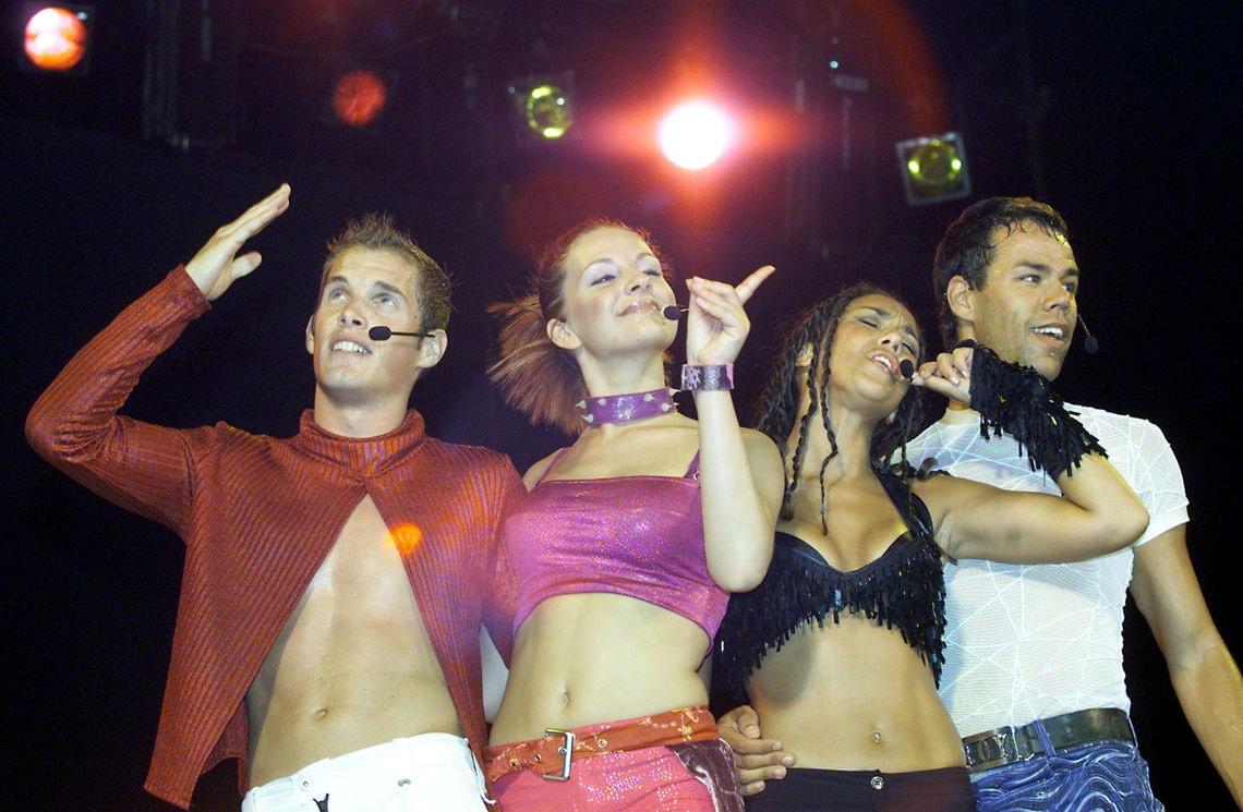 Vengaboys in 2001