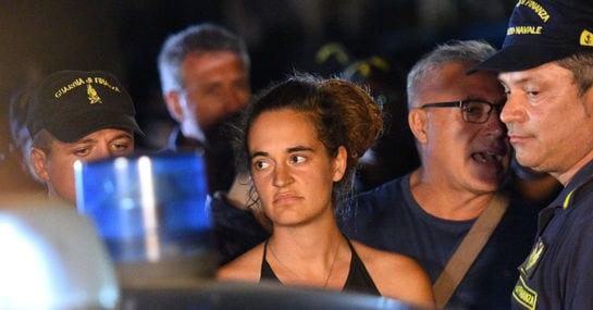 """""""Carola Rackete gehört nicht ins Gefängnis. Sie gehört in die Geschichtsbücher"""""""