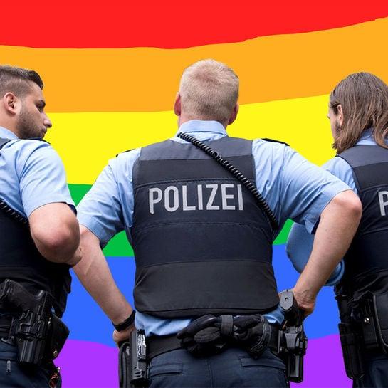 regenbogenflagge polizei cover