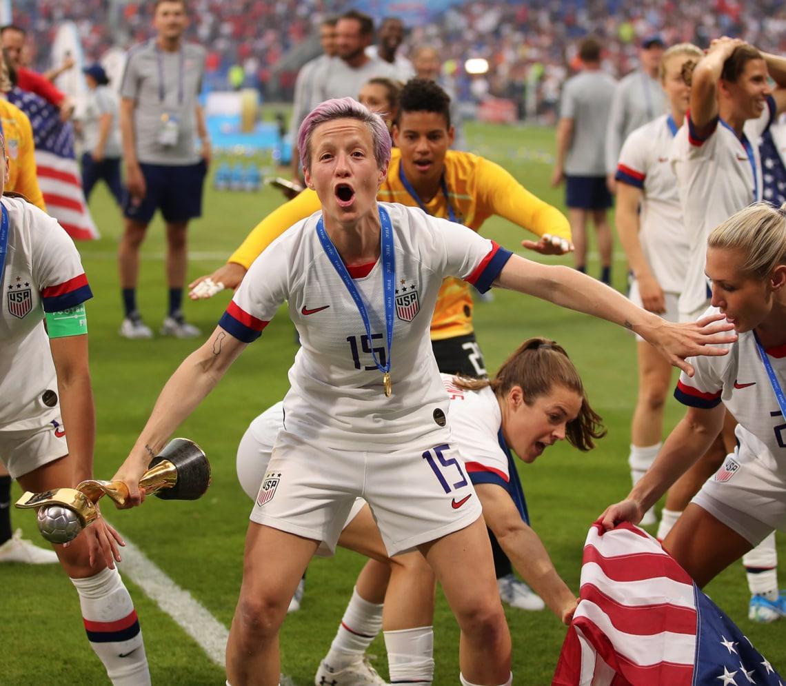 Equal Pay Debatte Us Verband Zahlt Frauen Nationalteam