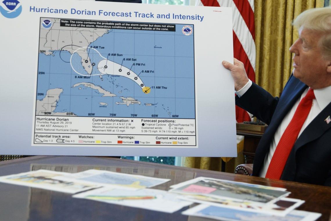 Donald Trump Karte