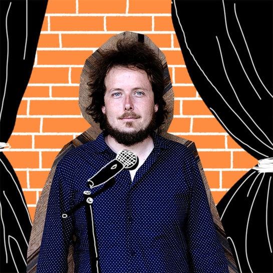 jobkolumne kabarettist