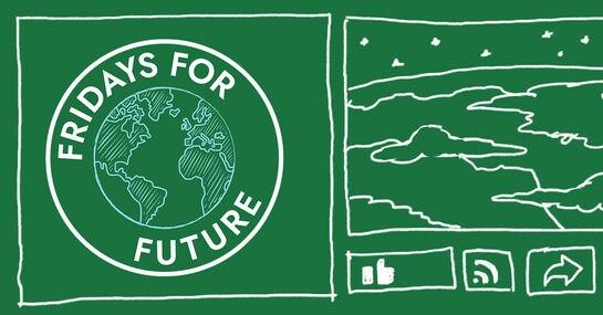 """Janine O'Keeffe betreut die Facebook-Seite von """"Fridays for Future"""""""