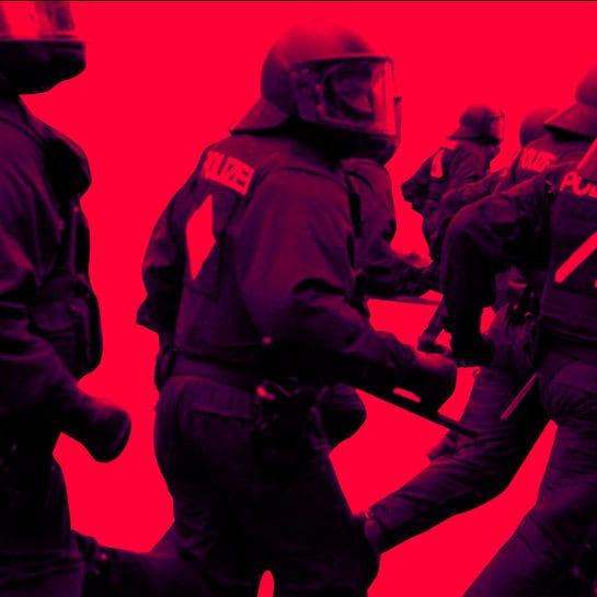polizei gewalt