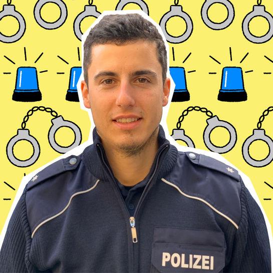 jobkolumne polizist cover