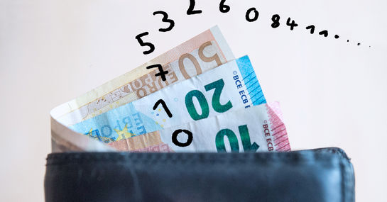 So kreativ meldet sich der Finder eines verlorenen Geldbeutels