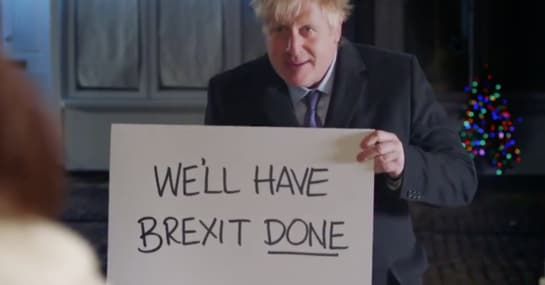"""Boris Johnson kopiert """"Love Actually"""" als Wahlwerbung"""