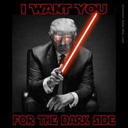 buzz trump dark side