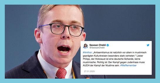 Philipp Amthor wird für Aussage zu Antisemitismus kritisiert