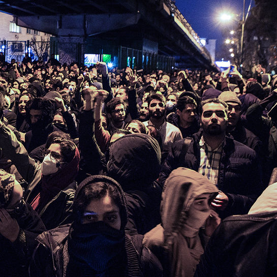 iran protest studenten