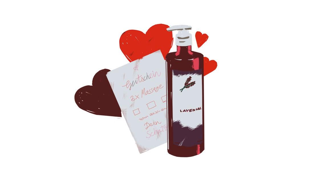 valentins geschenke typologie massageoel