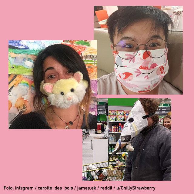 Coronavirus Und Mund Nasen Masken Die Schonsten Und Verrucktesten