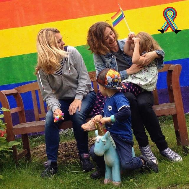 regenbogen familie